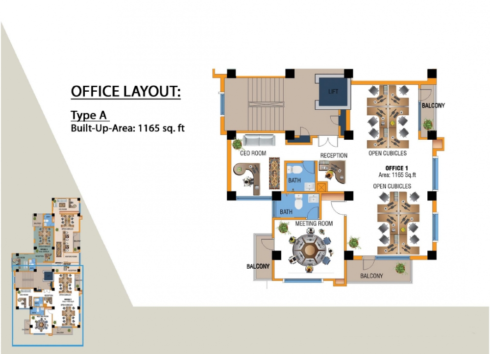 Office Layout Type A